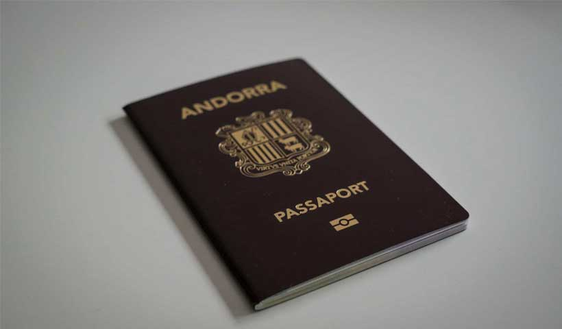 andorra passport - پاسپورت آندورا