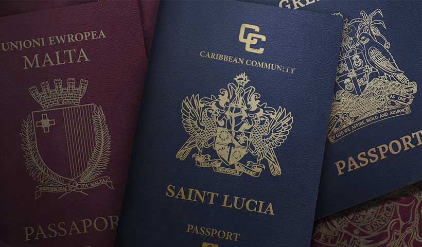 saint lucia passport 1 - پاسپورت سنت لوسیا
